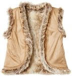 Amazon Brand - RED WAGON Girl's Fur Gilet