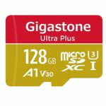 Gigastone 128GB Micro SD Card with Adapter
