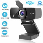 HD Webcam 2K/4MP/1440P (With Privacy Shutter)