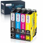 OfficeWorld 603XL Replacement for Epson 603 XL Ink Cartridges Multipack Compatible with Epson Expression Home XP-3100 XP-4100 XP-2100 XP-2105 XP-3105 XP-4105 Workforce WF-2810 WF-2830 WF-2835 WF-2850