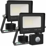 Onforu 2 Pack 30W Security Light with Motion Sensor