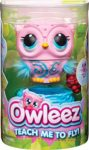 Owleez 6053359 Flying Baby Owl Interactive Toy with Lights and Sounds (Pink)