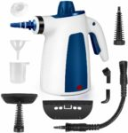 YRIGHT Handheld Pressurized Steam Cleaner -Multi-Purpose Steamer with 9-Piece Accessories for Multi-Surface Stain Removal