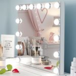 Ovonni Lighted Vanity Makeup Mirror with Bright LED Lights