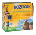 Hozelock Ltd 20 Pot Watering Kit Including AC1 Timer which Has 13 Pre-set Programs to Supply Water From Once Per Day