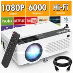 QKK V08 Projector 1080P Full HD Supported