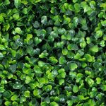 """ULAND 12Pcs 20"""" x20"""" Artificial Spring Boxwood Panels Topiary Hedge Plant"""