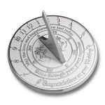 The Metal Foundry Unique Wedding Gift Idea For A Special Couple. A Years Together Sundial Makes A Great Marriage Present For The Bride And Grooms Garden Or Home Décor Ornament UK