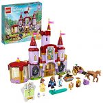 LEGO 43196 Disney Belle and the Beast's Castle Building Toy from The Beauty and the Beast Movie with Princess & Prince Mini Dolls